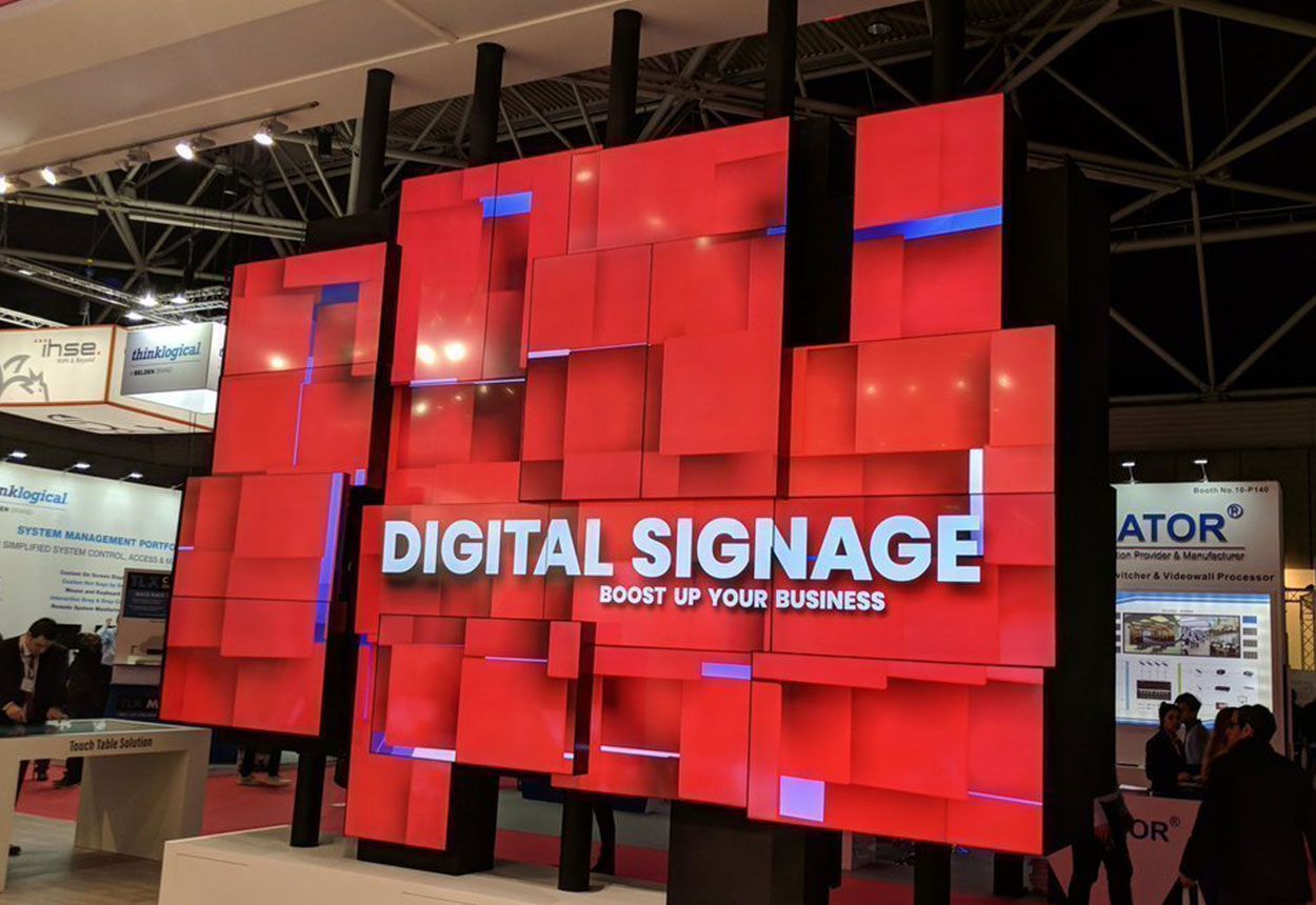 lcd-video-wall- | Add Vision - Digital Signage Solutions