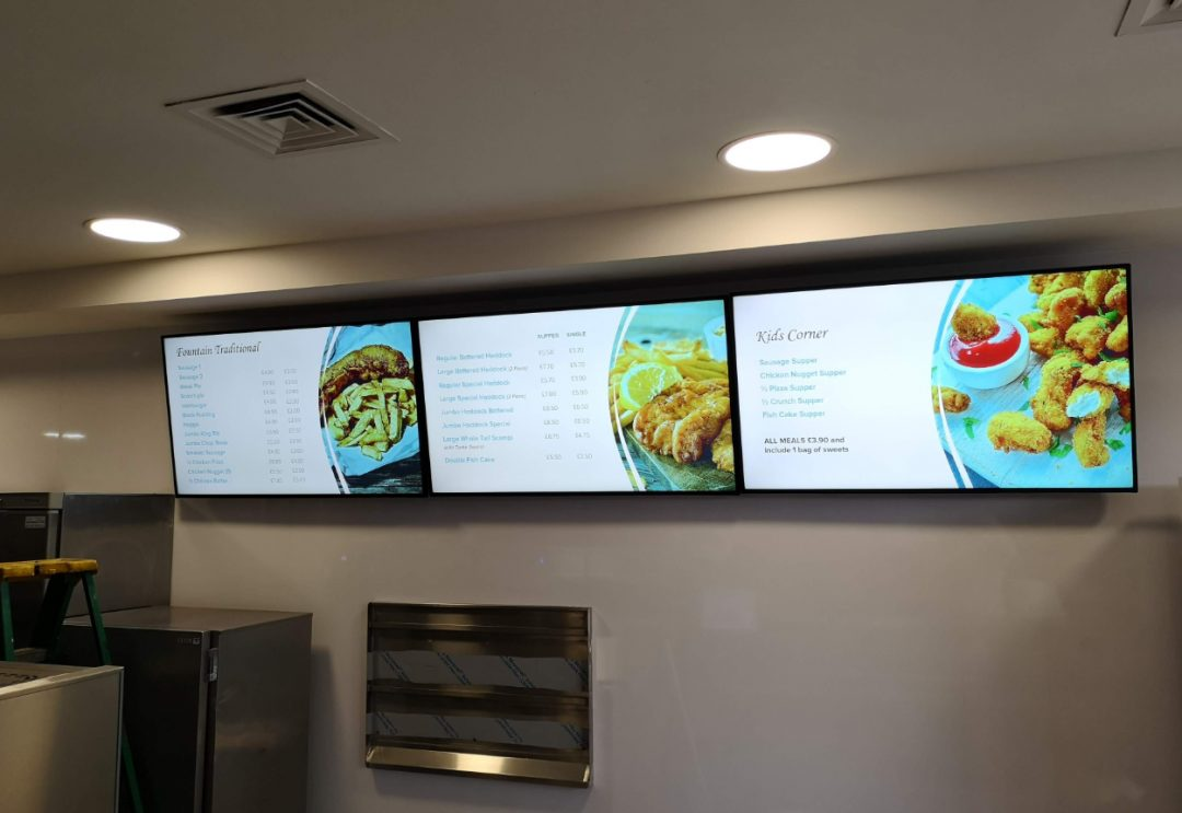 Digital Signage For Resturants